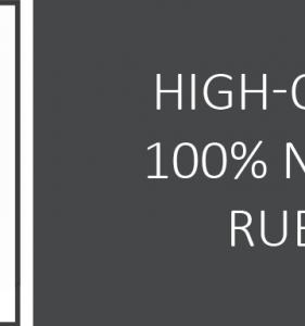100% prírodný kaučuk